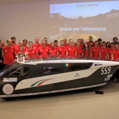 Emilia 4 - Presentazione in Ferrari